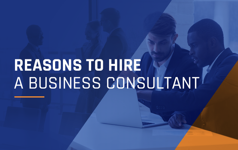 A cursory look at the need to hire a business consultant